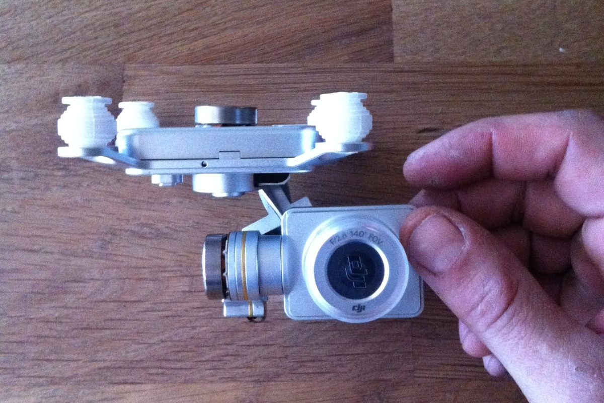 DJI Phantom 2 – Replacement Camera and Gimbal – NEWBIES
